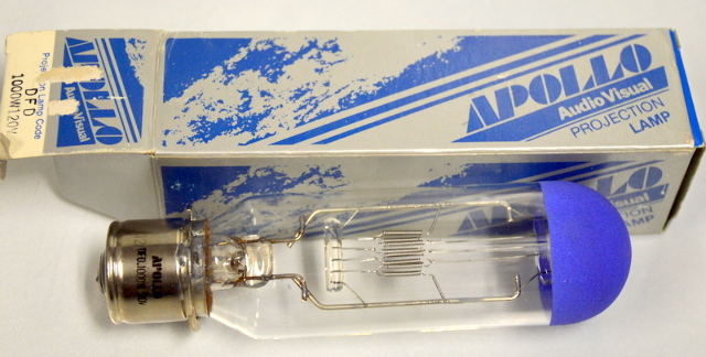 Apollo Audio Visual Projection Lamp DFD 1000W / 120V - NIB