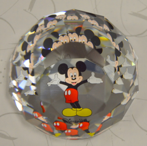 Swarovski Paperweight 60mm  Mickey Mouse - Mint condition   M5526 CAL Z