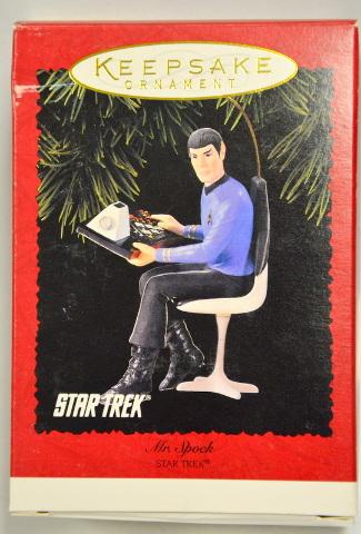 Hallmark Keepsake Ornament Mr. Spock-Star Trek  #05544