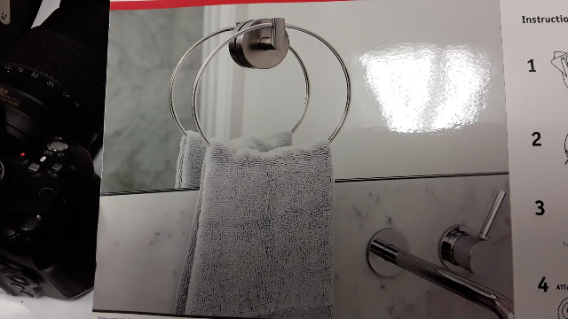 GRiiPA Friction Dual Towel Holder - Stronger than suction.  #3857