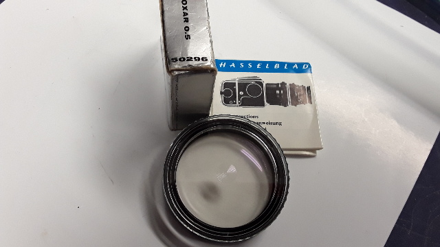Hasselblad Carl Zeiss Proxar Close Up Filters Set B57 #50296 New Old Stock