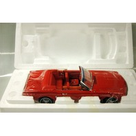 1964 1/2 Ford Mustang Convertible - 1:18 scale  die cast replica - Red