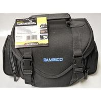 AMBICO V-4400 Small Nylon Camcorder/Digital Camera Bag