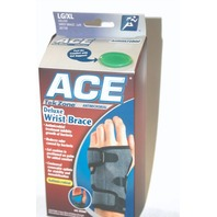 Ace TekZone Deluxe Wrist Brace-Antimicrobial LG/XL - Left Hand - New