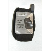 Mini Cell Phone Holder#423-435 New Black