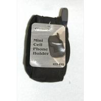 Mini Cell Phone Holder#423-435 New Black
