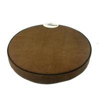 DAKOTA Design Round Padded Stool Custion - Brown - New