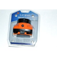 1/2 Watt Head Lamp FL8215 - 1 LED - 45 Lument On/Off Push Button