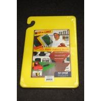 San Jamar Cut-N-Carry 12x18x1/2 Yellow #CB121812YL
