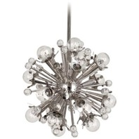 Jonathan Adler Sputnik 18 Light Nickel Pendant Light - #1C622