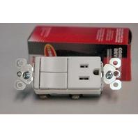 P & S Combination Device - Legrand #TM8118-WCC - New