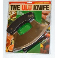 The Ulu Knife  - kitchen knife that's contoured for comfort