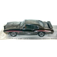 "GMP 1:18 Scale 1970 Pontiac GTO 10th Anniversary ""The Judge"" 1 of 2,508 made."