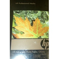"""HP Advanced Photo Paper - Glossy 13"""" x 19"""" - 25 Sheets - New - For Inkjet"""