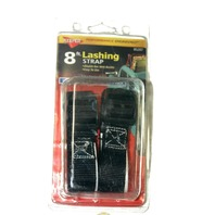 Keeper 8ft Lashing Strap 2 pk  30lb load limit NEW