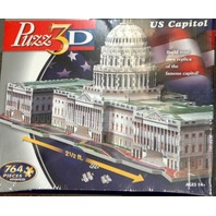 Puzz3D Jigsaw Puzzle of the US Capitol - Advanced Level - New