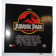 Jurassic Park Letterboxed Laserdisc - in perfect condition.