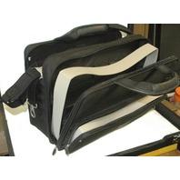InFocus Black Polyester Briefcase w/ shoulder strap