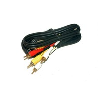 Audio/Video Cable - New - 6' - #1726/S/G/BK/6'