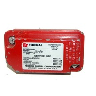 Federal Signal Corp. Supervisory Switch #PIV1 - Used