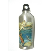 Aluminum Water Bottle-.5 Liters - New-Fish Design