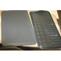 GM Part Number: 19121485 MAT PKG, Rear Floor Mat - 2 Pc. (Vinyl)