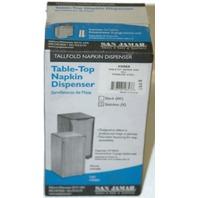Table-top Napkin Dispenser Stainles steel 150 tallfold - H900X