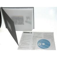 "HP Photo Book-New-Q8793A-w/Software-Mauve - 8.5x11"""