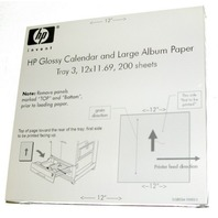 HP Glossy Calendar & Large Album Paper-200 sheets.