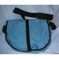 Nylon Saddle Bag -Sm. Size -Blue