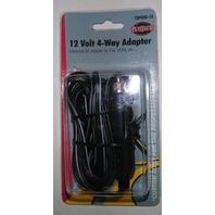 Universal DC 4 Way Adapter