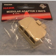 MODULAR ADAPTOR 3 WAYS - Telephone Accessories