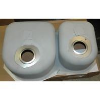 Elkay Dual Sink-#DXUH3119R-New-w/Mounting Brackets