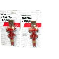 Fox Run Craftsmen Bottle Topper - New - 2 pieces.