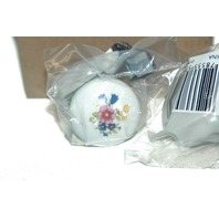 Belwith P760-BQ Porcelain Cabinet Knob Drawer Pull,  Flowers Country Theme