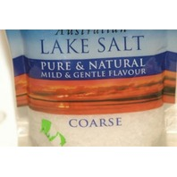 Australian Lake Salt Pure& Natral mild & gentle flavour COARSE. New