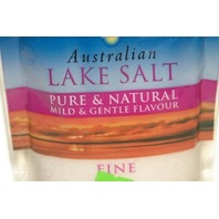 Australian Lake Salt Pure& Natural mild & gentle flavor FINE. New