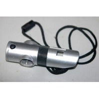 7-in-1 Survival Whistle - Silver