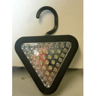 39 LED Safety & Work Light -Black NEW