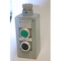 A-B  800TT-2PY Series M Push button enclosure