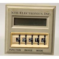 NTE  R65-11AD10 Digital time delay relay/counter