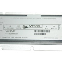 VICOR VI-200-27 SERIES DC-DC CONVERTER Used