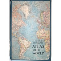 National Geographic Atlas of the World Enlarged 2nd Edition 1966