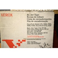 Xerox 8R7187 Binder Tape -White - 1 reel, may be some missing - New