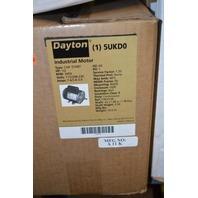 Dayton Electric motor #5UKD0, 1/2 HP, 3460 RPM, 115-208-230V, 5/8 SHAFT