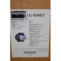 Dayton Electric motor #5UKE7, 1/3HP, 1725RPM,115/208-230V