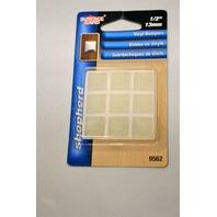 """Shepherd Surface Gard 1/2"""" Vinyl Bumpers #9562- 9 pc package - 6 packages."""