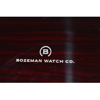 Bozeman Watch Co.-  Lockable Watch Box. In original box.