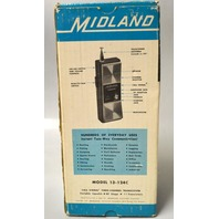 Vintage Midland Three-Channel Transceiver w/RF Stage and Squelch control.#13-124C