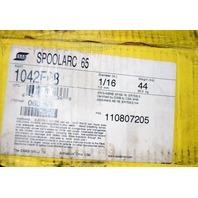 "ESAB SPOOLARC 65 #1042F08 1/16"" Diameter - 44 lb. roll. Welding Consumables."
